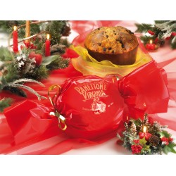 Panettone Virginia Red Traditional 500gr